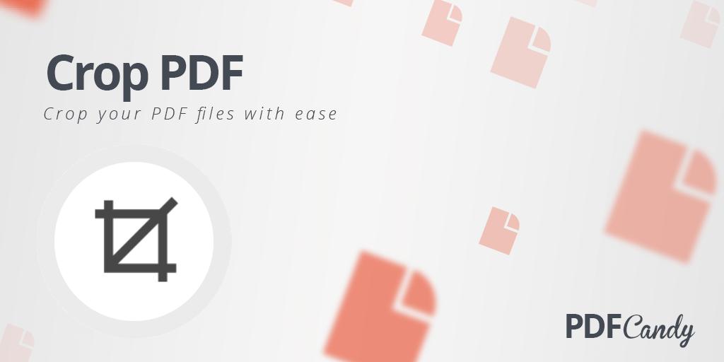 Crop PDF: free online PDF cropper
