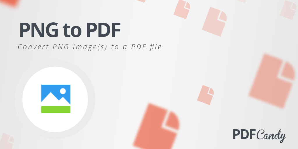 PNG to PDF: convert multiple PNG to a single PDF