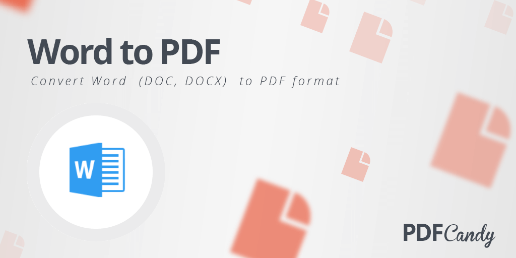 Word to PDF: convert Word to PDF format easily